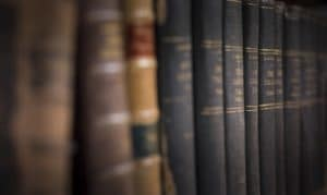 Old books at the Mary Ball Washington Museum & Library